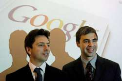 Larry Page and Sergey Brin - Google's creators