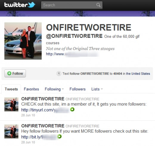 OnFireTwoRetire is not a criminal, but his profile pix is of a criminal, Marcus Schrenker!