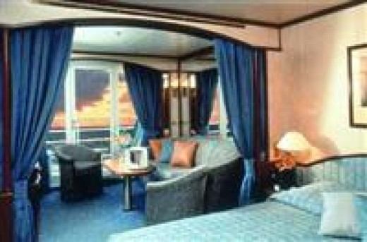 Luxury cabin from best-cruises.eu