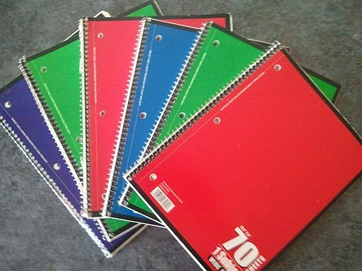 Simple notebooks are a great way to jot down those precious memories before they are lost and forgotten forever.
