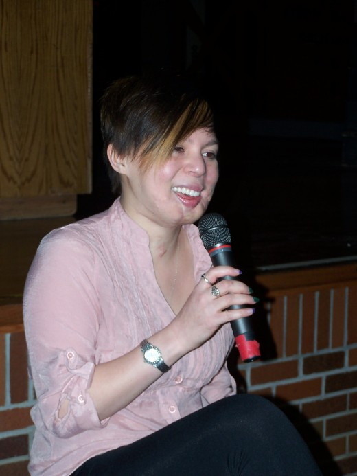 Johanna Orozco shares her story with teens.