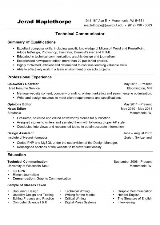 best images about resume sample template and format on sample entry level resume brefash entry level - Sample It Resume