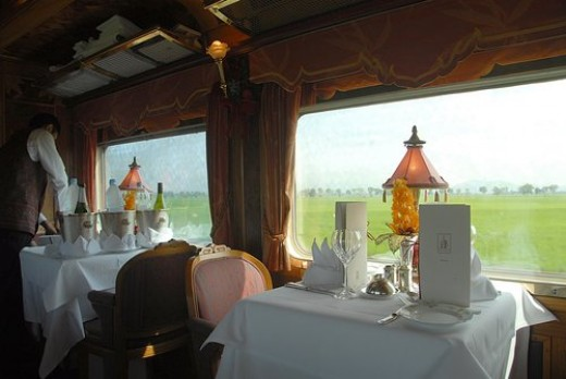 Dinner for Two on the Eastern & Oriental Express