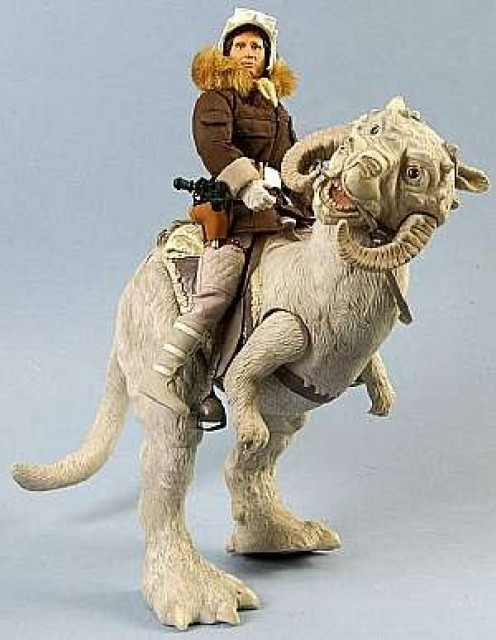 Han and Tauntaun from star wars