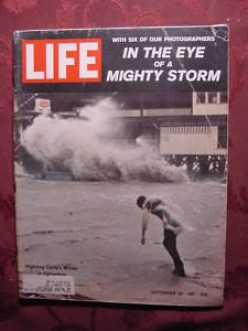 In September of 1961, Life Magazine covered the devastation  of Hurricane Carla, and the Rocket Chemical Company employees came in on a Saturday to produce additional concentrate to meet the needs of it's victims along the Gulf Coast.