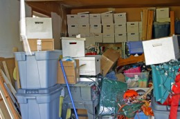 Clutter invades our homes
