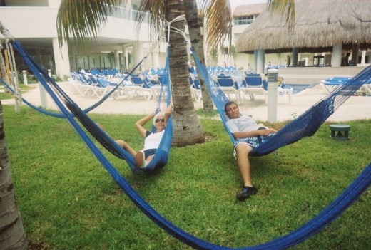 Take  siesta in Cancun Mexico