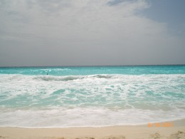 Enjoy the beautiful surf in Cancun Mexico