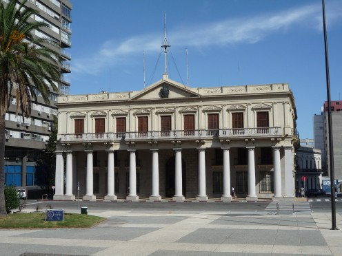 Presidential building, Montevideo, Uruguay