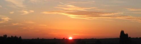 Setting Sun - Copyright Tricia Mason