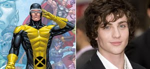 Aaron Johnson's connection to Matthew Vaughn and Bryan Singer could lead him one day to the role of Cyclops