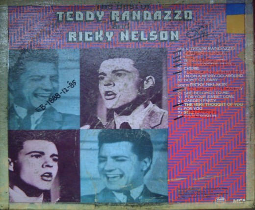 The Face-Off Album of Teddy Randazzo & Ricky Nelson (Photo by Travel Man)