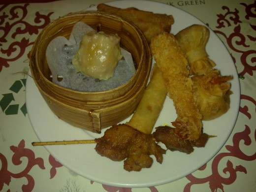 A selection of the famous Chinese cuisine, the Yum Cha,