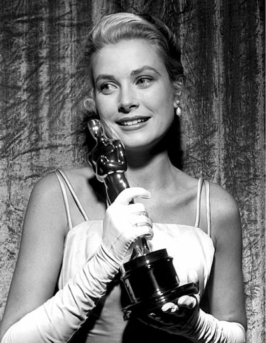 Grace Kelly won an Oscar for Best Actress in The Country Girl, (1955).