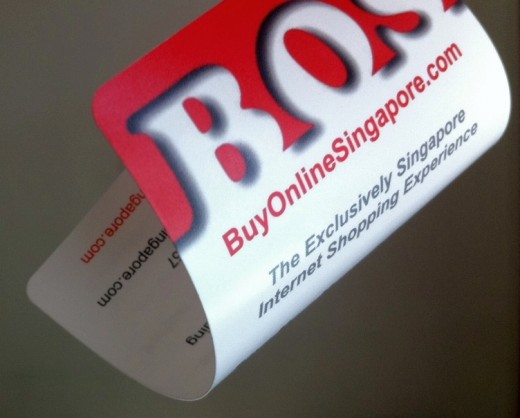 I also created a nice logo for this company called   BOS Buy Online Singapore using CoolText.com. The image was also used for the website banner.