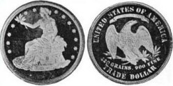 A brief history of the United States Trade dollar: a most unusual silver dollar.