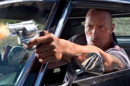 "Dwayne Johnson is ""Driver"""