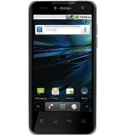 T-Mobile G2x (by LG), dual-core 1 GHz CPU and Tegra 2 video chipset