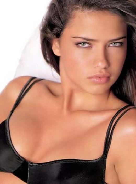 Adriana's sexy look