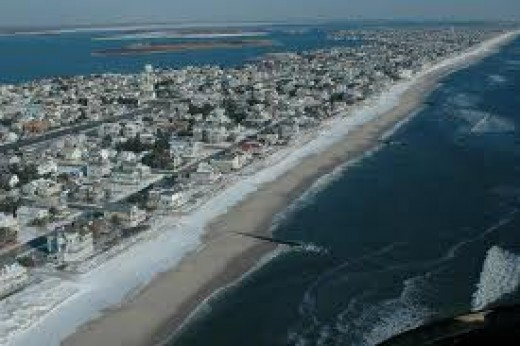 Long Beach Island, New Jersey.