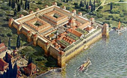 Diocletian's Palace - how it originally looked