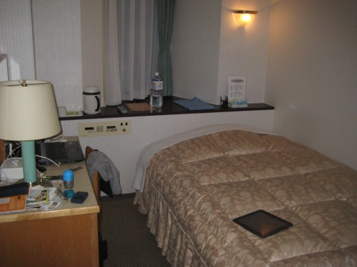 Small room but recommended for solo travelers