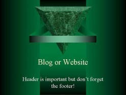 Why is website footer important?