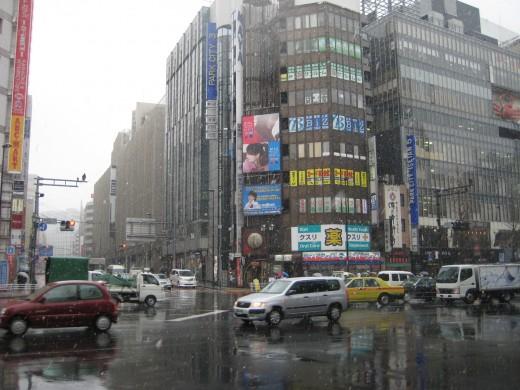 Yasukuni Dori Avenue