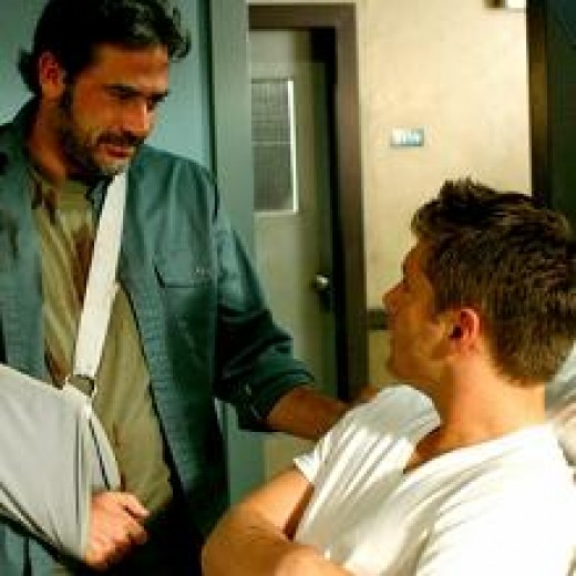 John Winchester's last few words with his son Dean