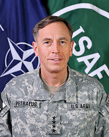 GENERAL DAVID PETRAEUS Soon-to-be Director of the CIA, Former Commander of the ISAF and Commander of USFOR-A