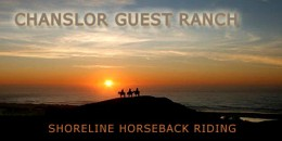 Chanslor Guest Ranch offers shorelilne horseback riding and much more!