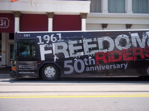 1961 Freedom Riders - CATs Bus from Little Rock, AR