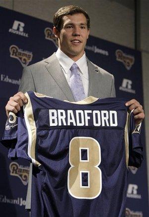 Sam Bradford St Louis Rams Quarterback