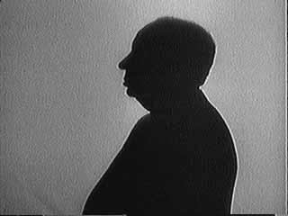 Hitchcock's famous profile