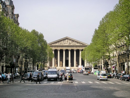 Church of La Madeleine, Paris
