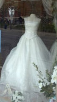 You might find the gown of your dreams at a bargain price! Title: Wedding Windows ~ License MorgueFile License ~ Photographer: gracey