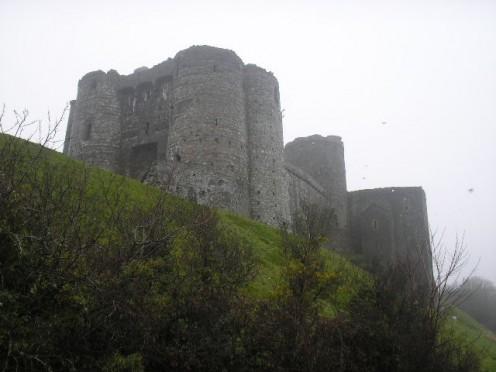 Kidwelly Castle from Castle Walk