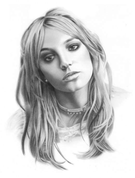 Britney Spears Kids Coloring Pages and Free Colouring Pictures to Print