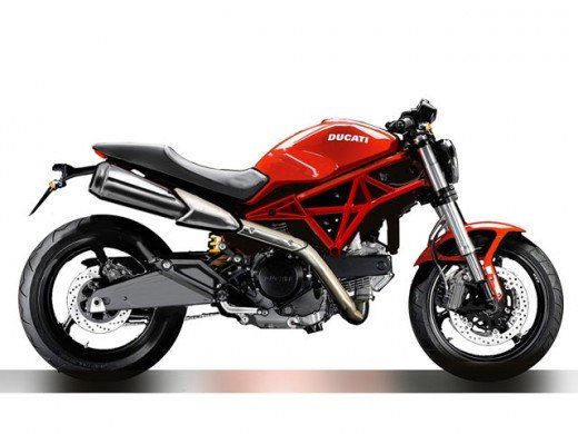Ducati Monster.  A very classy bike.