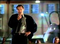 The President in the movie Independence Day, giving  his speech before the final battle for the planet Earth.