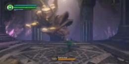 Green Lantern Defeating the Zamaron Defender