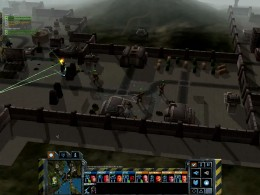 Capturing the Steiner HW base by approaching from point 4, thus avoiding the turrets.