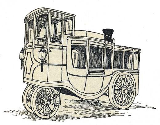 Randolph's Steam Carriage, 1872