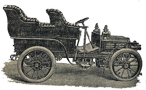 The belt driven Fouillaron, 1903