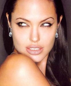 Angelina Jolie - The sexy, sultry starlett.