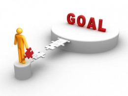 Goals: set them, achieve them.