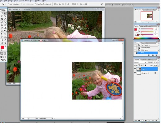Open your image in Adobe Photoshop