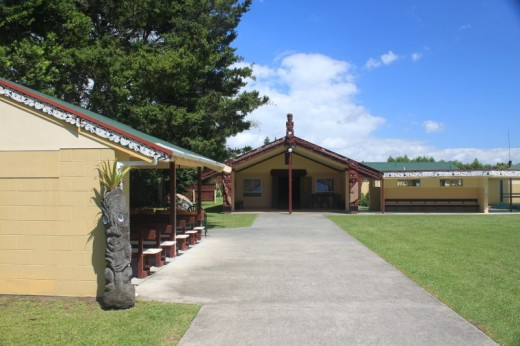 The Maori Cultural Center. Copyright 2011, Bill Yovino