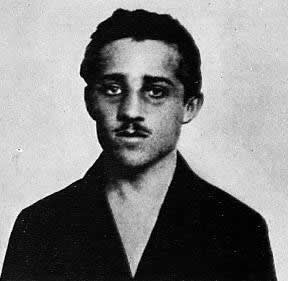 Gavrilo princep who assassinated Archduke Ferdinand of the Austria Hungarian empire resulting in the outbreak of World War I