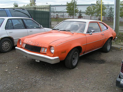 1970 era Ford Pinto.   My nemesis!